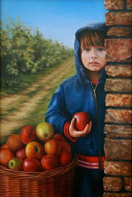 Petrov Painting - Mia by Dan Petrov