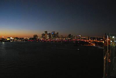 Photograph - Miami At Night by Gary Wonning