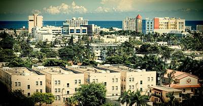 Photograph - Miami Beach-0156 by Rudy Umans
