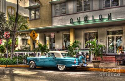 Miami Beach Art Deco 1 Art Print