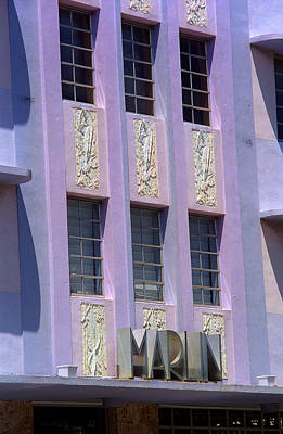 Photograph - Miami Beach - Art Deco 12 by Frank Romeo