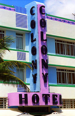Photograph - Miami Beach - Art Deco 2 by Frank Romeo