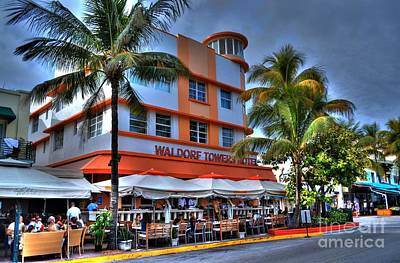 Miami Beach Art Deco 2 Art Print