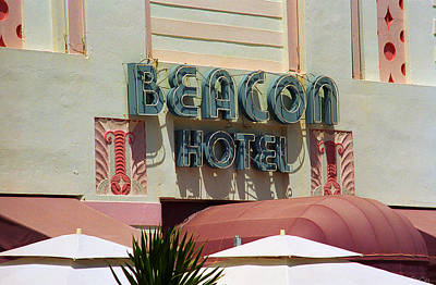 Photograph - Miami Beach - Art Deco 5 by Frank Romeo