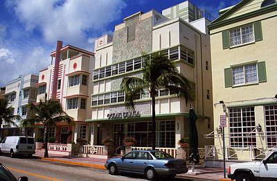 Photograph - Miami Beach - Art Deco 59 by Frank Romeo