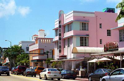 Photograph - Miami Beach - Art Deco 62 by Frank Romeo