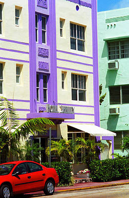 Photograph - Miami Beach - Art Deco 9 by Frank Romeo
