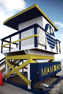 Photograph - Miami Beach by John Rizzuto