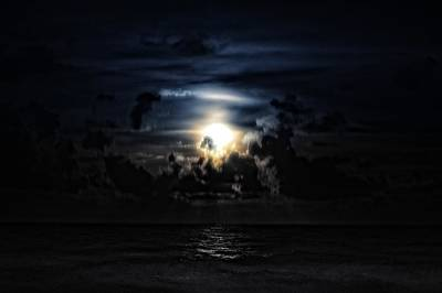Photograph - Miami Beach Moon by J Anthony