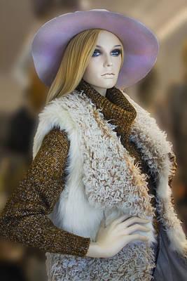Photograph - Female Store Mannequin - Miami Beach Series 11 by Carlos Diaz