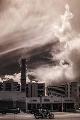 Miami Beach Sky Art Print