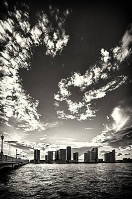 Photograph - Miami City Landscape by Celso Diniz