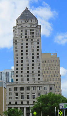 Miami Dade Courthouise Art Print