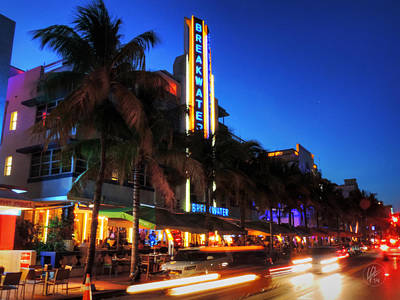 Miami - Deco District 017 Art Print
