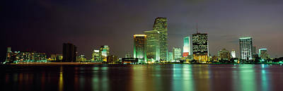 Miami Fl Usa Art Print by Panoramic Images