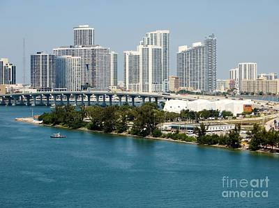 Photograph - Miami Florida by Tim Townsend