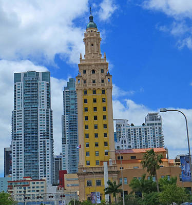 Photograph - Miami Freedom Tower by Dart and Suze Humeston