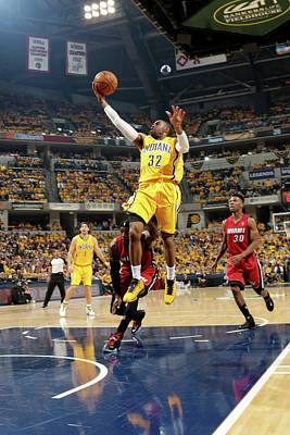 Photograph - Miami Heat V Indiana Pacers - Game One by Ron Hoskins