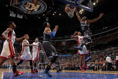 Photograph - Miami Heat V Orlando Magic by Fernando Medina