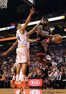 Photograph - Miami Heat V Phoenix Suns by Christian Petersen