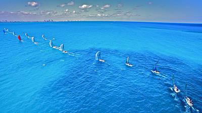 Miami Horizon Art Print by Steven Lapkin