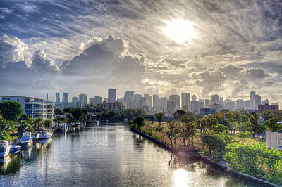 Photograph - Miami Morning by William Wetmore