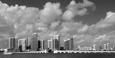 Miami Art Print by Raymond Earley