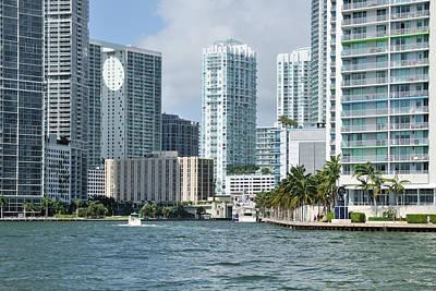 Photograph - Miami River Bayfront by Bradford Martin