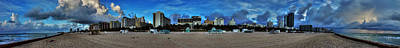 Photograph - Miami - South Beach Pano 001 by Lance Vaughn