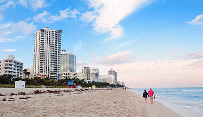 Photograph - Miami South Beach by Songquan Deng