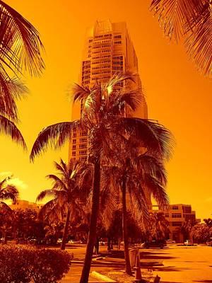 Miami South Pointe Iv Art Print