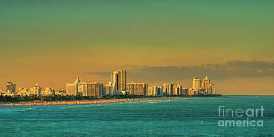 Photograph - Miami Sunset by Olga Hamilton