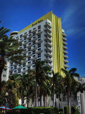 Art Deco Photograph - Miami - The James Royal Palm by Lance Vaughn
