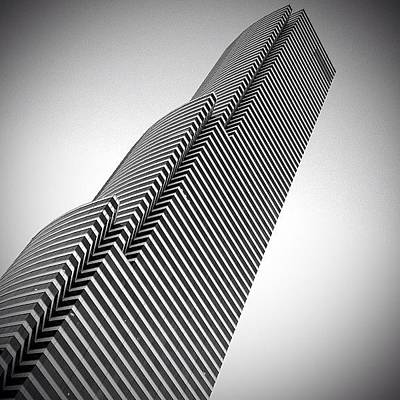 Miami Photograph - Miami Tower - Miami ( 1986 ) by Joel Lopez