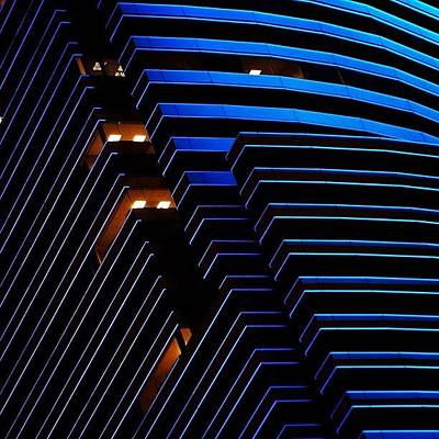 Architecturelovers Photograph - Miami Tower - Miami ( Details ) by Joel Lopez