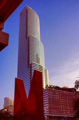 Photograph - Miami Tower by Celso Diniz