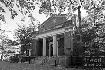 Miami University Alumni Hall Art Print by University Icons