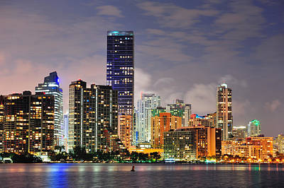 Photograph - Miami Urban Architecture by Songquan Deng