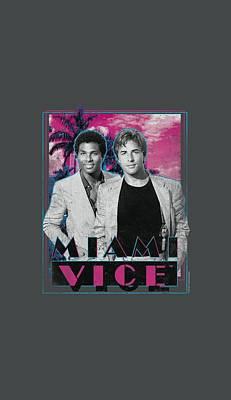 Miami Vice Digital Art - Miami Vice - Gotchya by Brand A