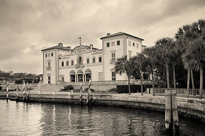 Photograph - Miami Vizcaya  by Songquan Deng