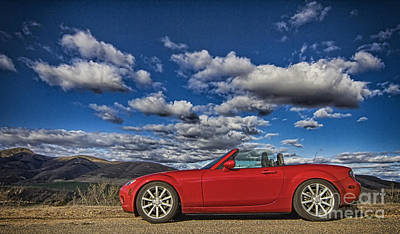 Photograph - Miata by Jason Abando
