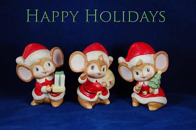 Photograph - Mice Holiday by Aimee L Maher Photography and Art Visit ALMGallerydotcom
