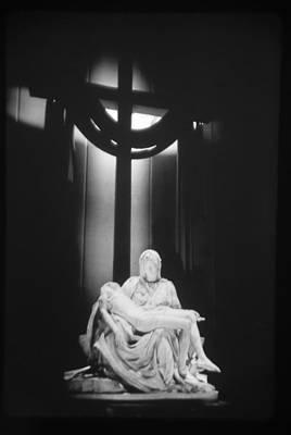 Photograph - Michaelangelo's Pieta by John Schneider