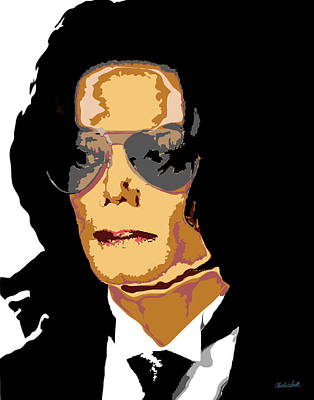 Charles Smith Painting - Michael by Charles Smith