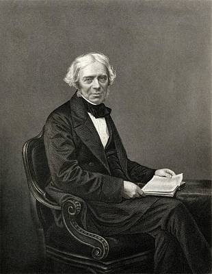 Michael Faraday Print by Chemical Heritage Foundation