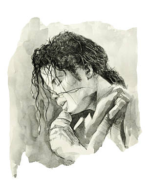 Michael Jackson 3 Art Print by Bekim Art