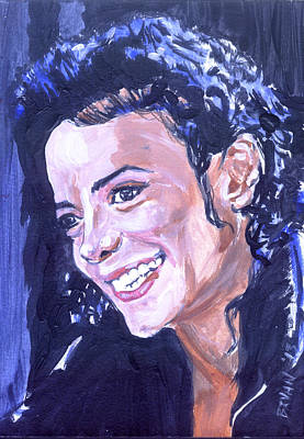 Painting - Michael Jackson by Bryan Bustard