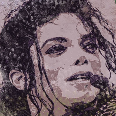 Michael Jackson Digital Art - Michael Jackson Concert 7 by Yury Malkov