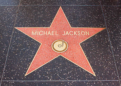 Photograph - Michael Jackson - Hollywood California by Ram Vasudev