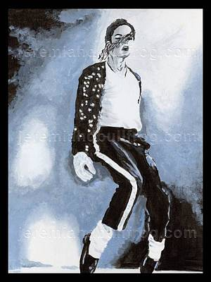 Billie Jean Painting - Michael Jackson by Jeremiah D BullfroG